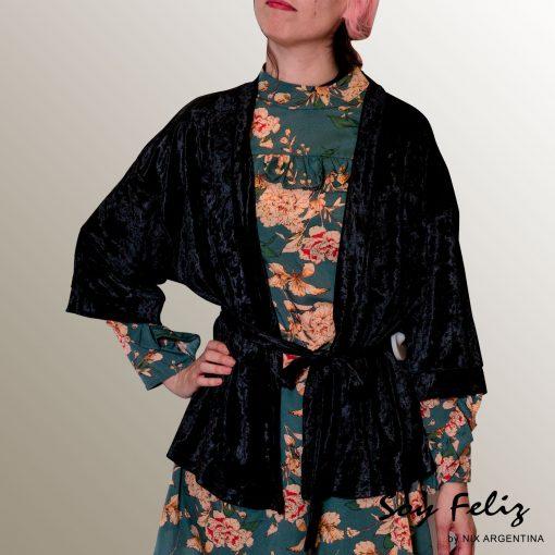 Kimono Terciopelado